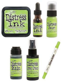 Tim Holtz Twisted Citron