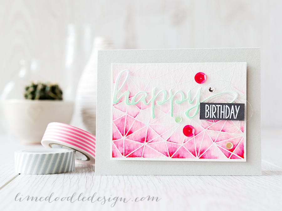 watercolour marker background Debby Hughes - Lime Doodle Design https://limedoodledesign.com/2015/05/zig-vs-distres…ker-background/ #watercolor #watercolour #marker #card #background #birthday