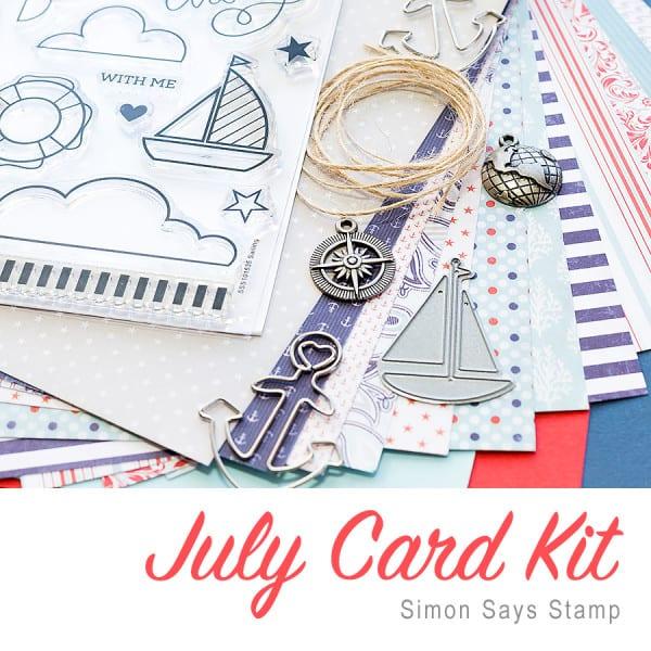 Simon Says Stamp July 2015 Card Kit