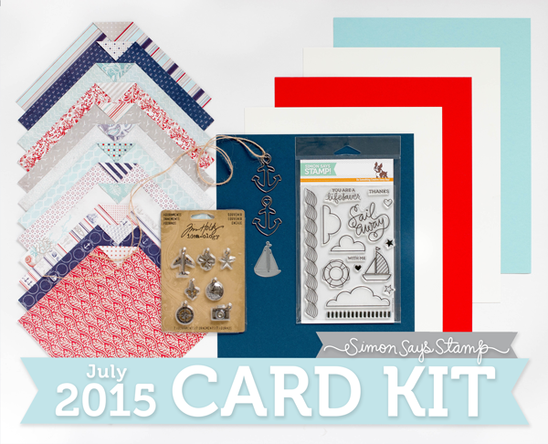 Simon Says Stamp July 2015 Card Kit