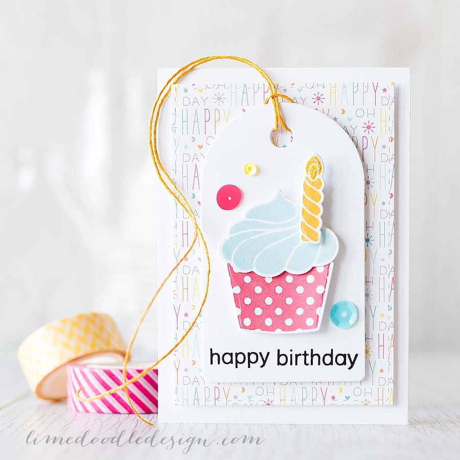 all occasion cupcakes - Debby Hughes - Lime Doodle Design https://limedoodledesign.com/2015/06/any-occasion-cupcakes/ #card #cake #cupcake #christmas #easter #birthday #halloween