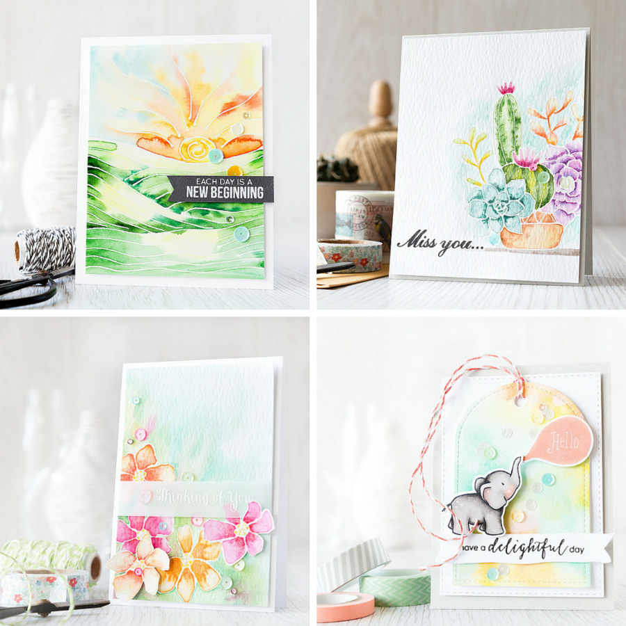 Watercolor review of the different media I've explored since the watercolor trend hit. Learn more by clicking on the following link: https://limedoodledesign.com/2015/07/watercolor-post-review/ ~ Debby Hughes ~ Lime Doodle Design