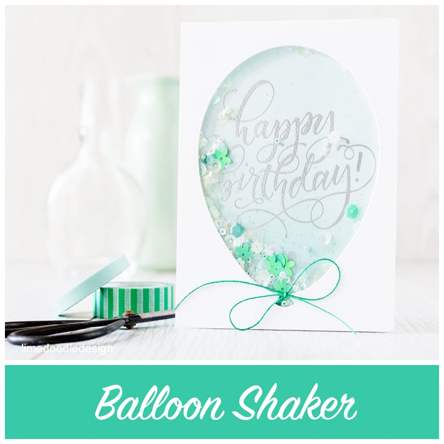 This balloon shaker is inspired by the gorgeous confetti filled balloons I've seen on Pinterest. Find out more by clicking the following link: https://limedoodledesign.com/2015/08/balloon-shaker/