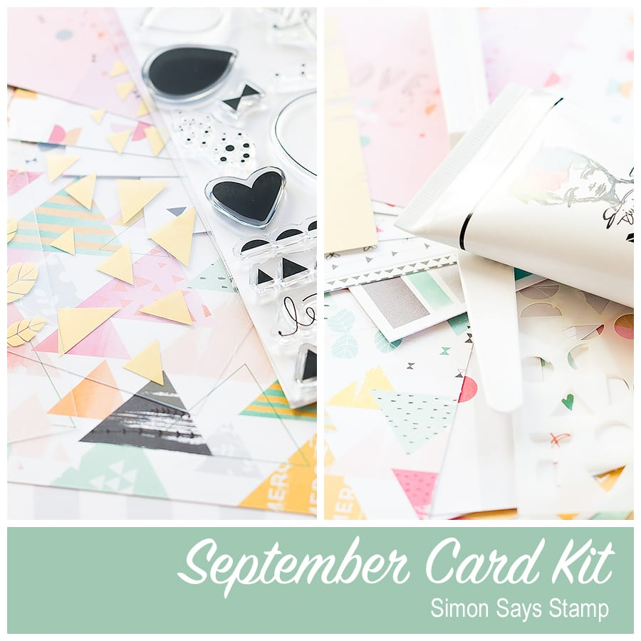 Simon Says Stamp September Card Kit. Find out more here: https://limedoodledesign.com/2015/08/vellum-accents/