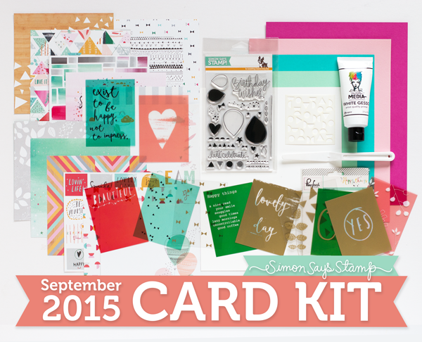 Simon Says Stamp September Card Kit