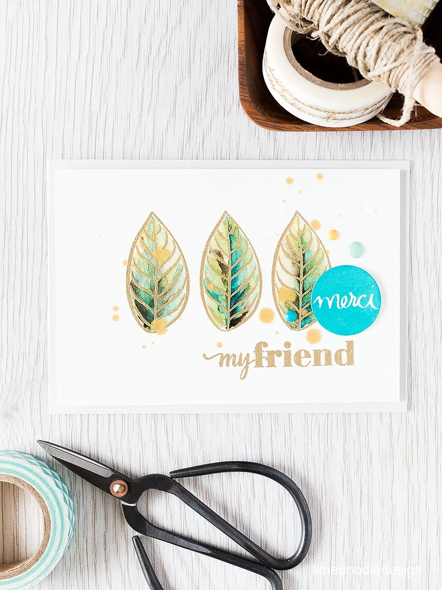 Repeat stamping is a simple technique for taking a smaller image you love and making it centre stage. Find out more by clicking the following link: https://limedoodledesign.com/2015/09/repeat-stamping/