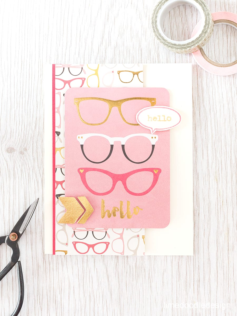 A journalling card makes a quick an easy focal point. Find out more by clicking the following link: https://limedoodledesign.com/2015/09/journalling-card/