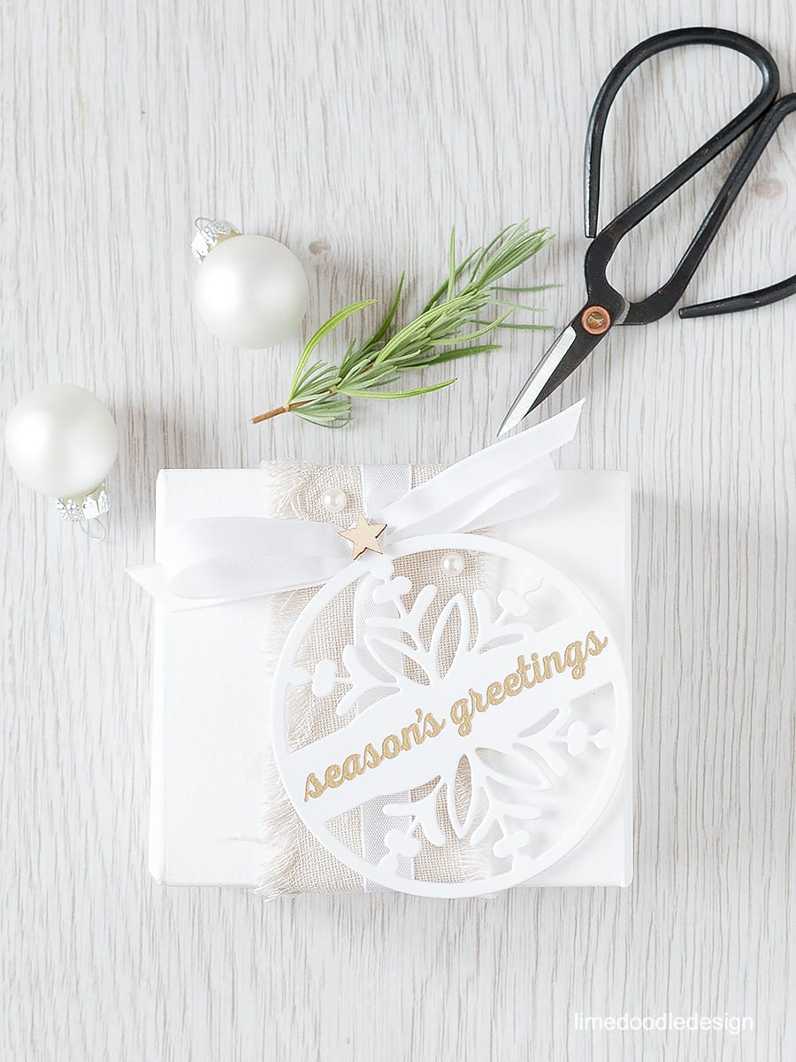 Clean & Simple Christmas - quick and easy Christmas projects that still pack a punch. For more please click on the following link: https://limedoodledesign.com/2015/09/clean-and-simple-christmas/