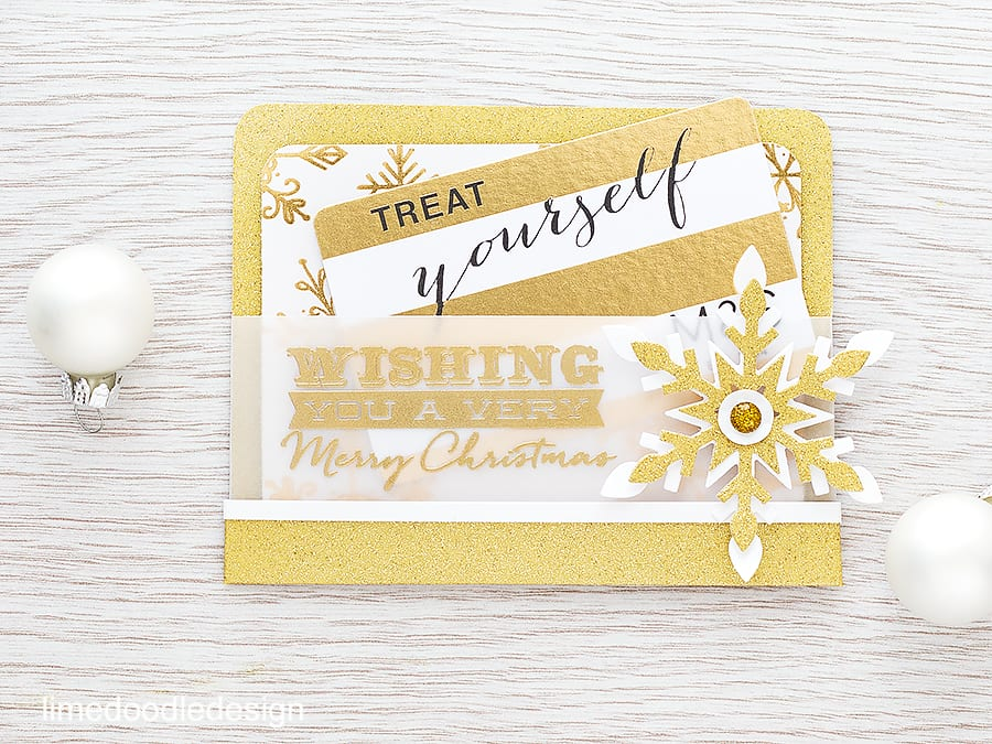 Taking a store gift card and giving it a handmade spin. Find out more by clicking on the following link: https://limedoodledesign.com/2015/11/gift-card-pocket/