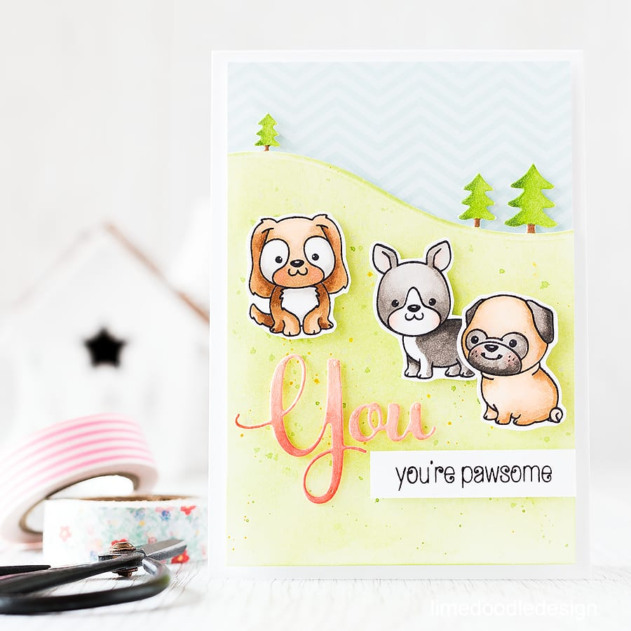 Cutest pups from the new Clearly Besotted release. Find out more by clicking the following link: https://limedoodledesign.com/2015/11/cutest-pups-giveaway/