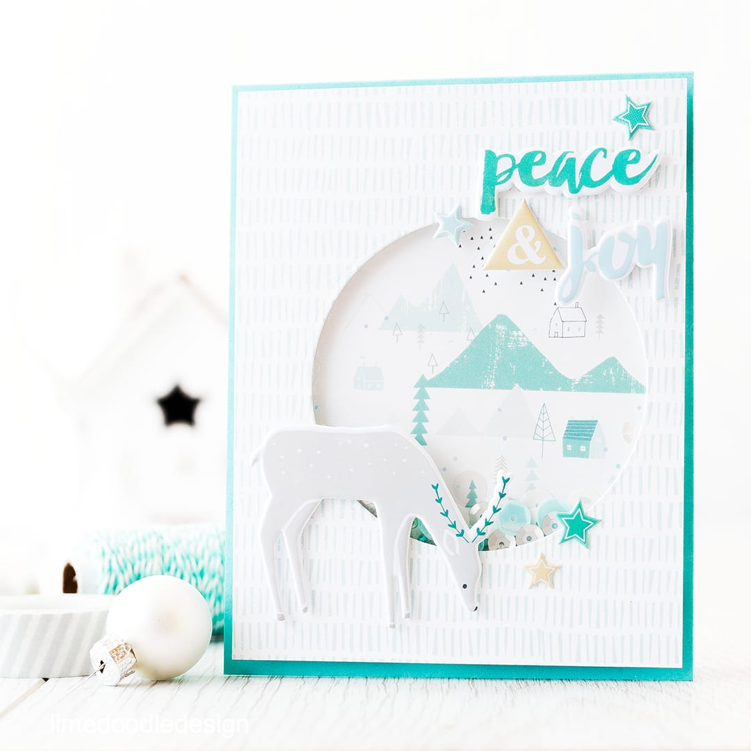 Video creating a simple shaker card using the December Card Kit from Simon Says Stamp. For more details please visit https://limedoodledesign.com/2015/11/video-simple-s…-card-giveaway/
