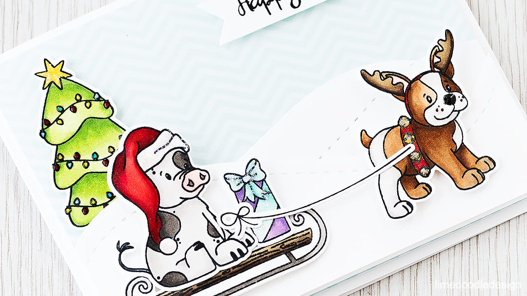 Best friends are well, the best aren't they! Find out more by clicking the following link: https://limedoodledesign.com/2015/11/best-friends-giveaway/ Christmas Holiday card