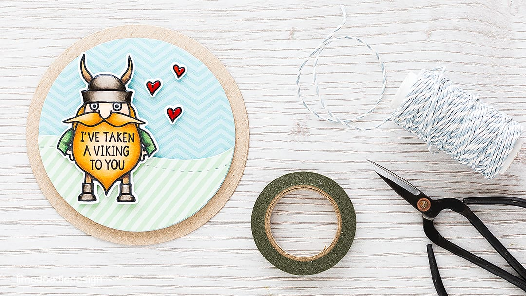 Quick & easy valentine. Find out more by clicking on the following link: https://limedoodledesign.com/2015/12/quick-easy-valentine/ card viking valentine