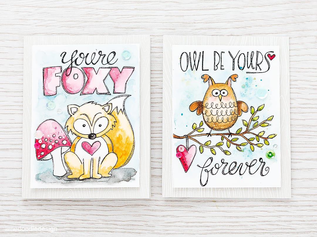 Watercolored Love Notes. To find out more please click on the following link: https://limedoodledesign.com/2016/01/watercolored-love-notes/
