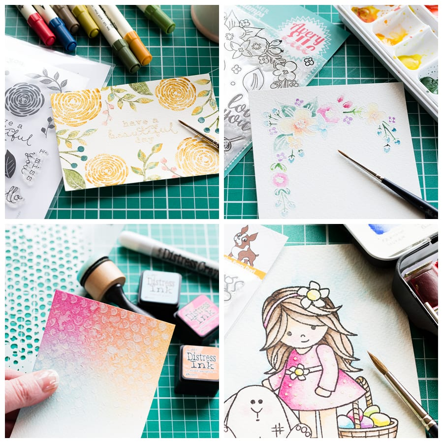 The Daily Marker 30 Day Coloring Challenge. Find out more by clicking on the following link: https://limedoodledesign.com/2016/02/layering-papers-stickers/