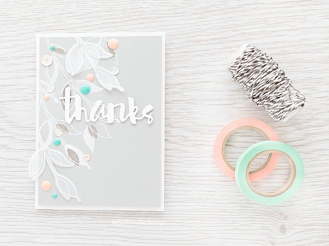 Tone on tone coloring gives such a soft elegant feel to this thank you card. Find out more by clicking on the following link: https://limedoodledesign.com/2016/02/tone-on-tone-plushies/