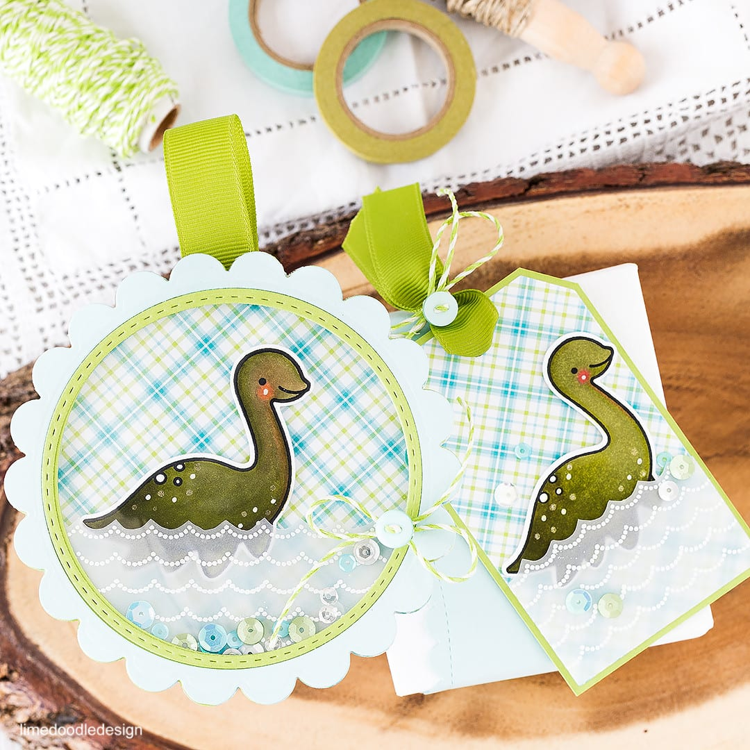 Nessie – a keepsake ornament card