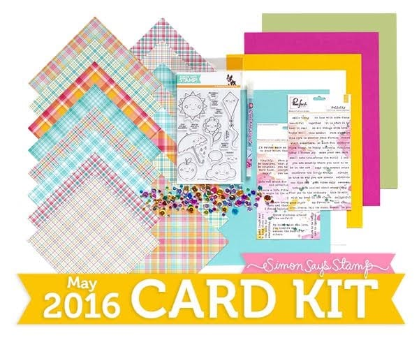 May Card Kit from Simon Says Stamp