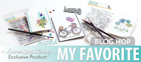 Simon Says Stamp My Favorite Blog Hop