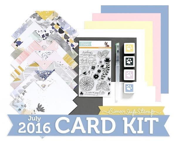 Simon Says Stamp July Card Kit