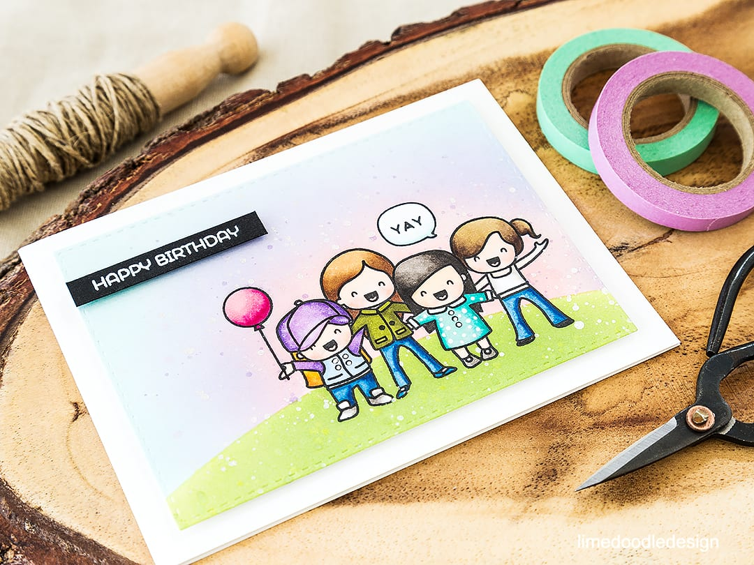 Great new girlfriends set from Mama Elephant. Find out more by clicking on the following link: https://limedoodledesign.com/2016/06/id-be-lost-without-my-girlfriends/
