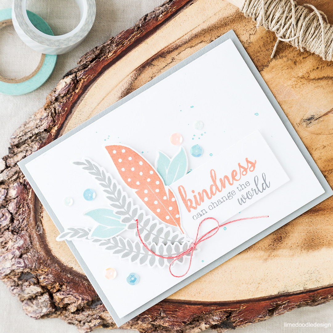 Simple elegance and the perfect message in this uplifting card. Find out more by clicking on the following link: https://limedoodledesign.com/2016/06/simple-elegance-and-the-perfect-message/