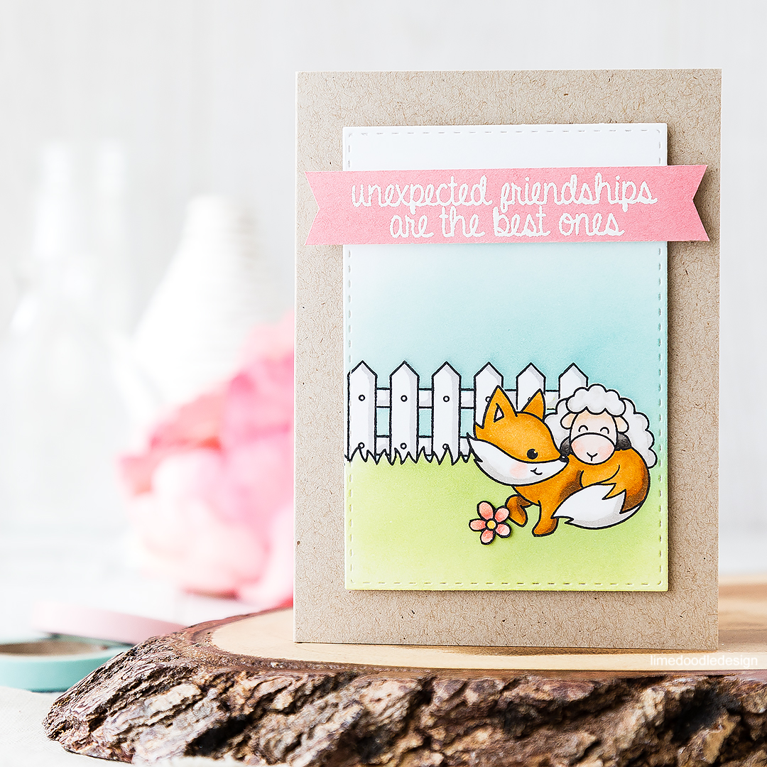 Unexpected friendships are the best ones. Find out more by clicking on the following link: https://limedoodledesign.com/2016/07/unexpected-friendships-are-the-best-ones/