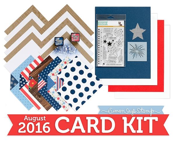 Simon Says Stamp August 2016 Card Kit