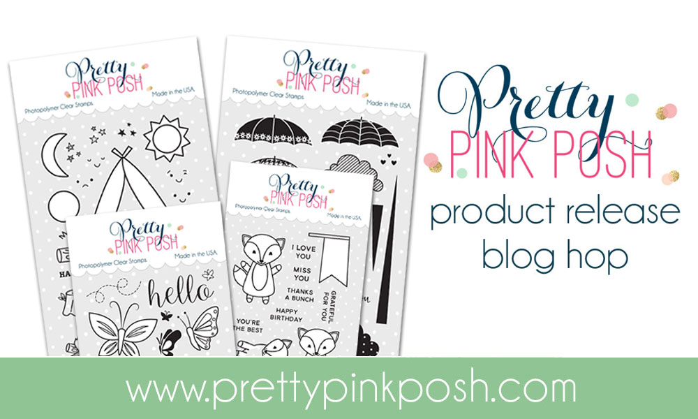 Pretty Pink Posh August Release Hop