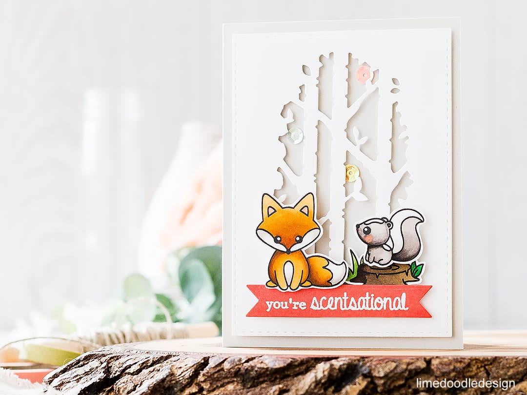 Scentsational Cute Critters! Find out more about this card by clicking on the following link: https://limedoodledesign.com/2016/09/scentsational-cute-critters/
