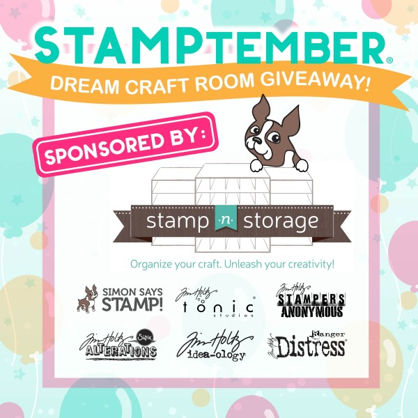 STAMPtember Dream Room Giveaway