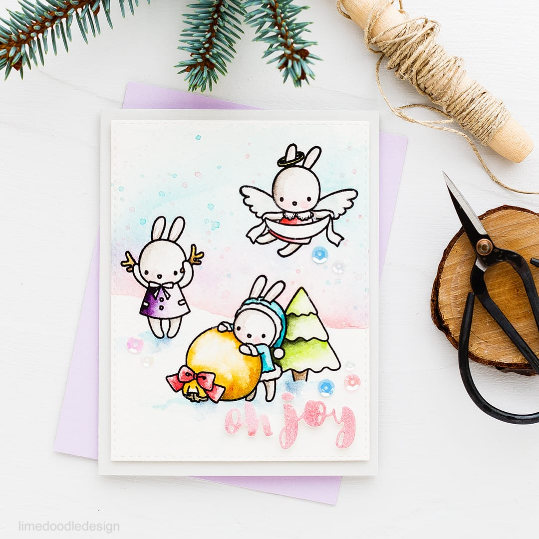 There's nothing better than cute for Christmas and I've got two cute as can be cards on the blog today using new sets from Mama Elephant's October release! Find out more by clicking on the following link: https://limedoodledesign.com/2016/10/theres-nothing-better-than-cute-for-christmas/