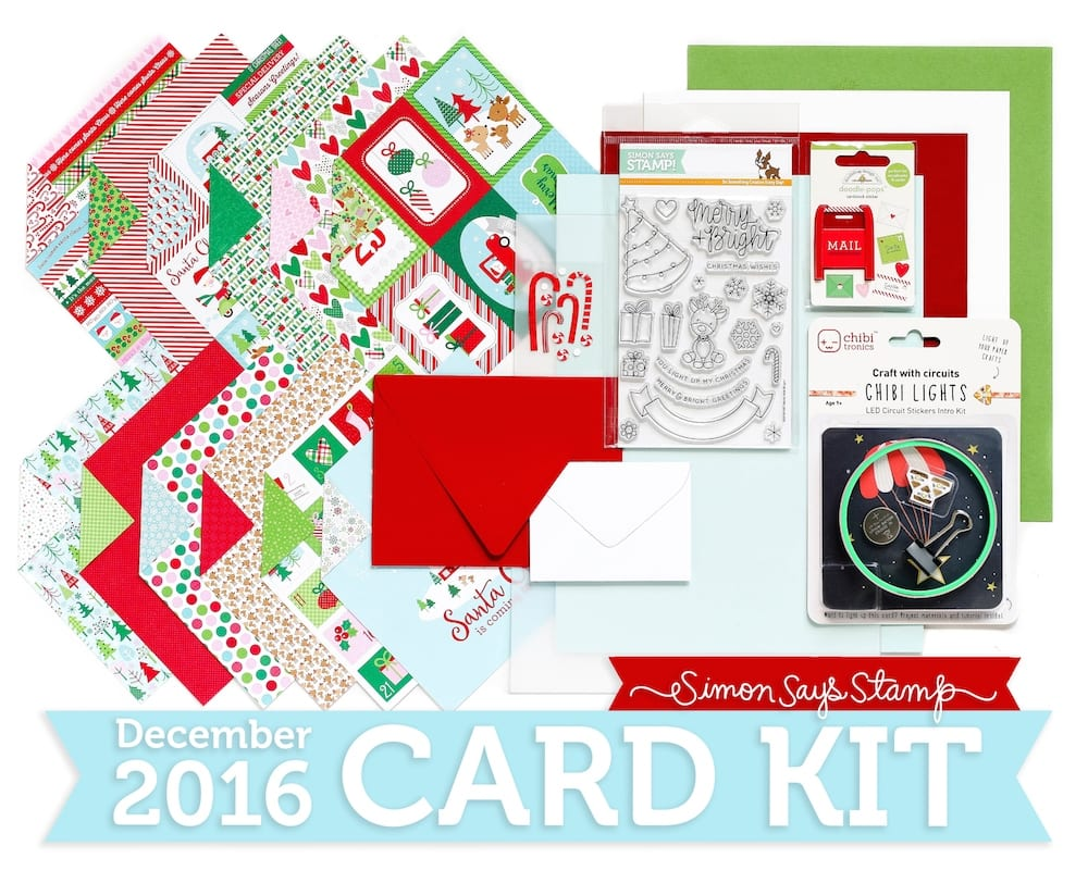 Simon Says Stamp December 2016 Card Kit