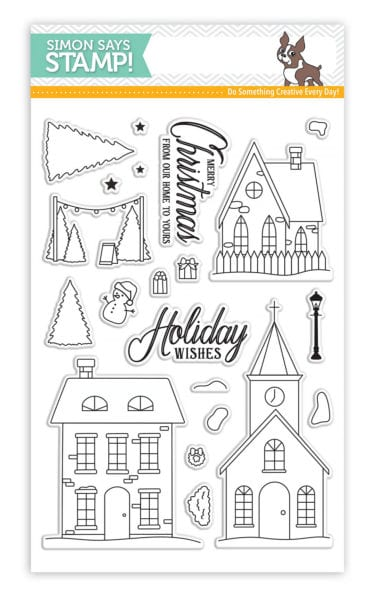Simon Says Stamp Christmas Town stamp set