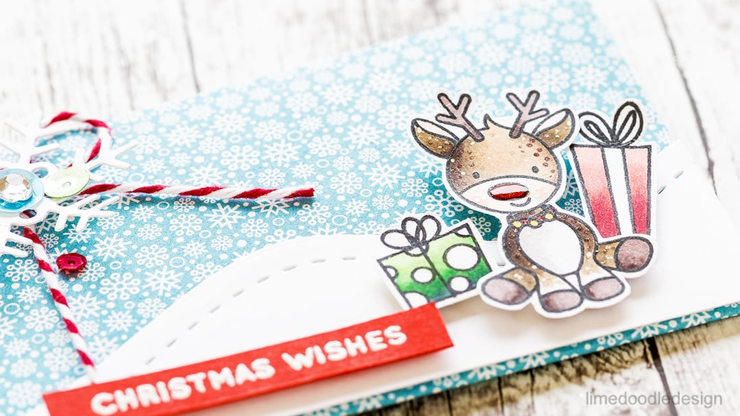 Gift card and money envelopes using the December Card Kit from Simon Says Stamp. Find out more by clicking on the following link: https://limedoodledesign.com/2016/11/simon-says-stamp-holiday-blog-hop-giveaway/