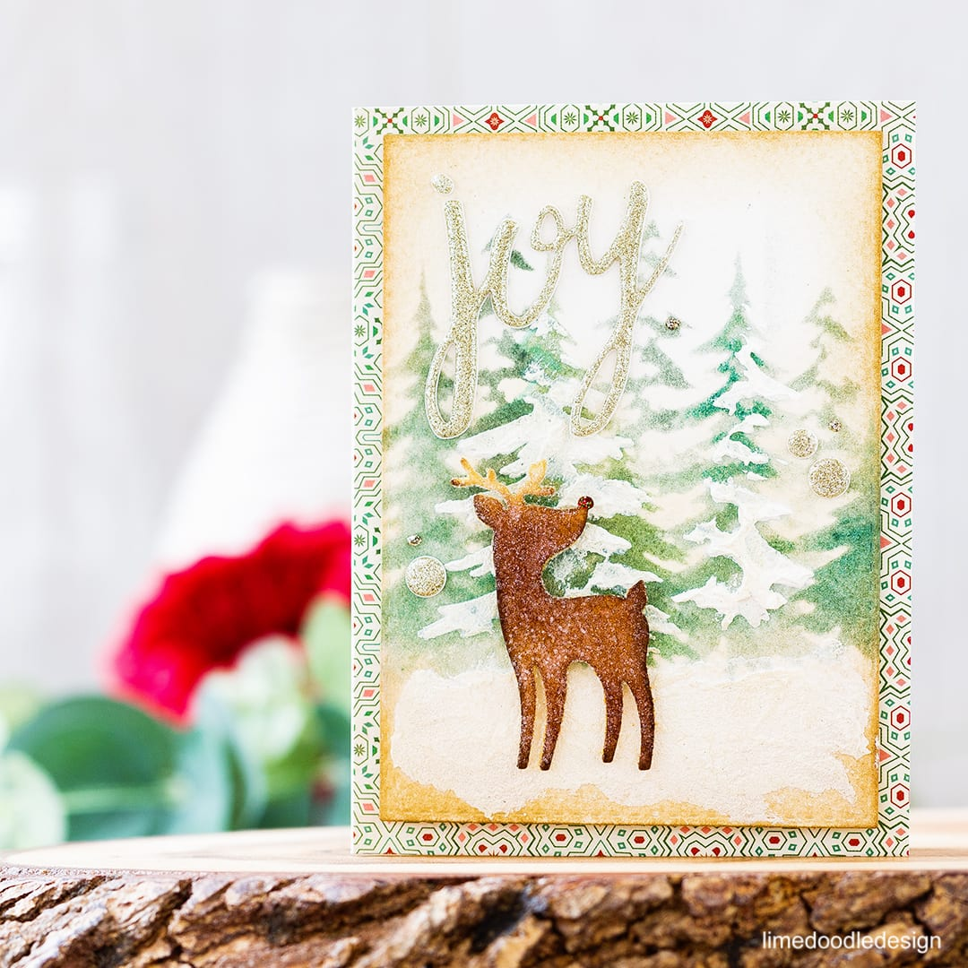 Vintage inspired Christmas using the Limited Edition Card Kit from Simon Says Stamp. Find out more by clicking on the following link: https://limedoodledesign.com/2016/11/simon-says-stamp-holiday-blog-hop-giveaway/