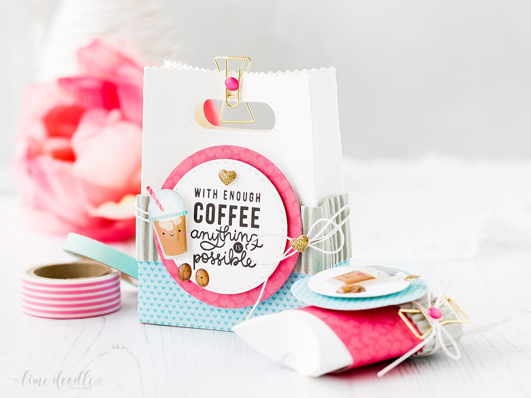 Valentine's treat packaging by Debby Hughes. Find out more by clicking on the following link: https://limedoodledesign.com/2017/01/valentines-treat-packaging/