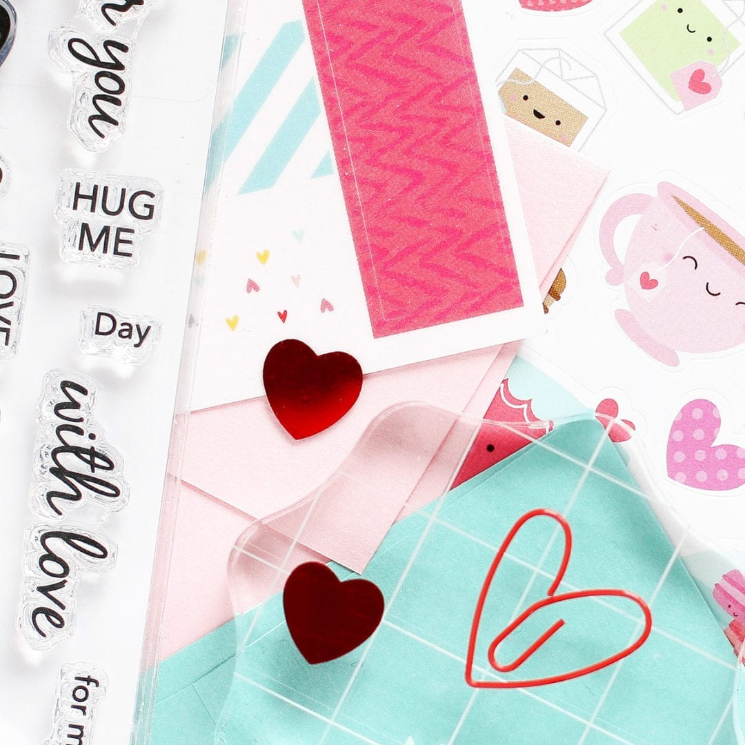 Simon Says Stamp Limited Edition Valentine's Day 2017 Card Kit. Find out more about this kit by clicking on the following link: https://limedoodledesign.com/2017/01/limited-edition-love-you-forever-card-kit/