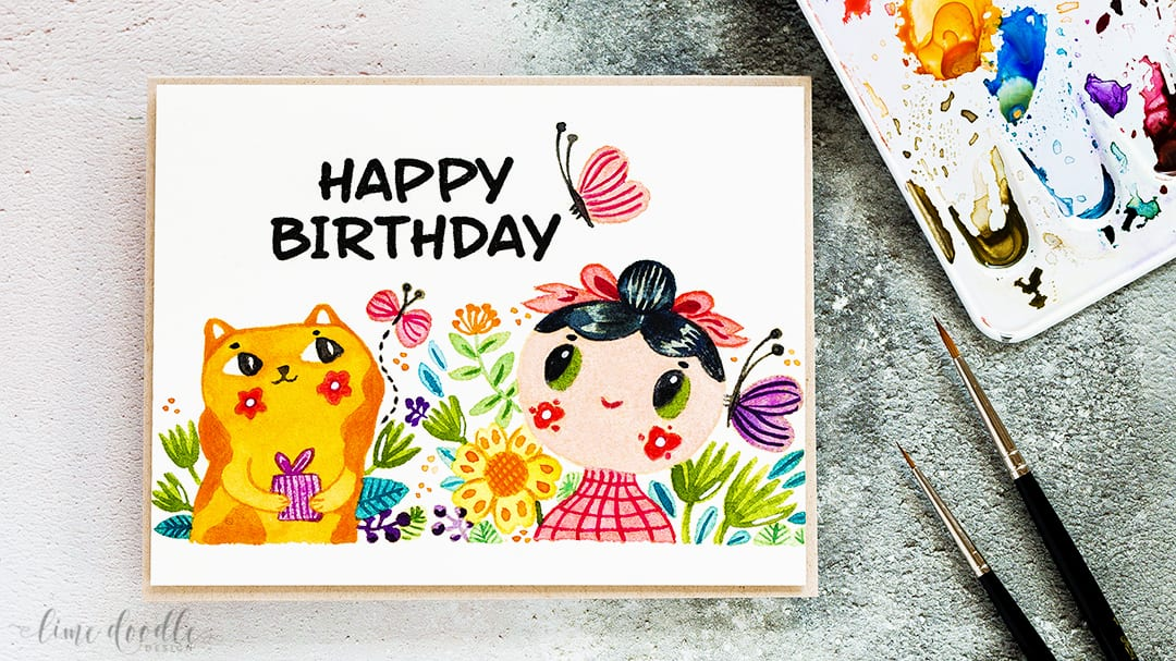Video – Helen Dardik Watercolor Card
