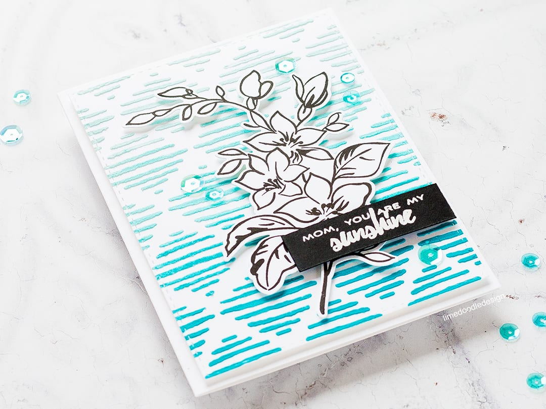 Two mother's day cards by Debby Hughes exploring the new Altenew stencils and spray inks. Find out more by clicking on the following link: https://limedoodledesign.com/2017/03/altenew-stencils-ink-sprays-release-blog-hop-giveaway/