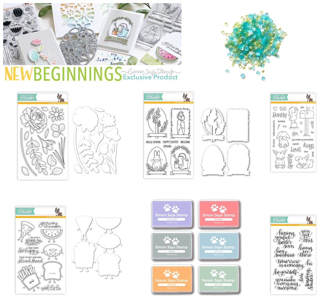 My Favorites from the Simon Says Stamp New Beginnings Release