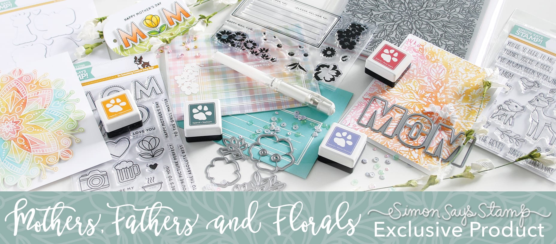 Simon Says Stamp Mothers Fathers Florals release