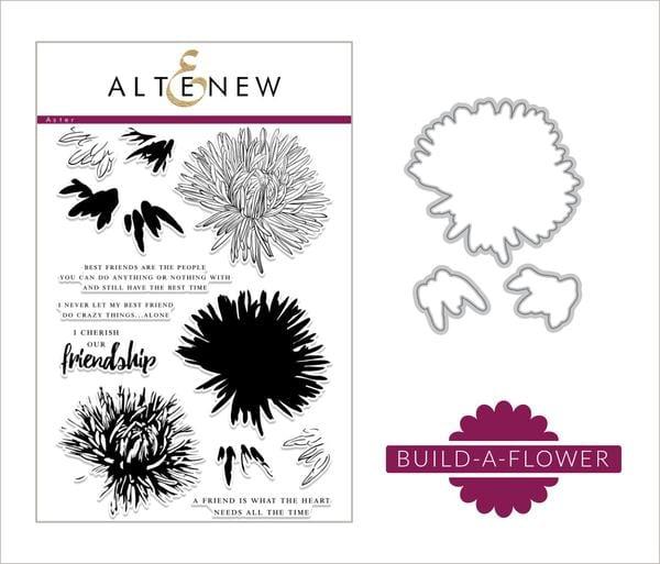 Altenew Build A Flower Aster
