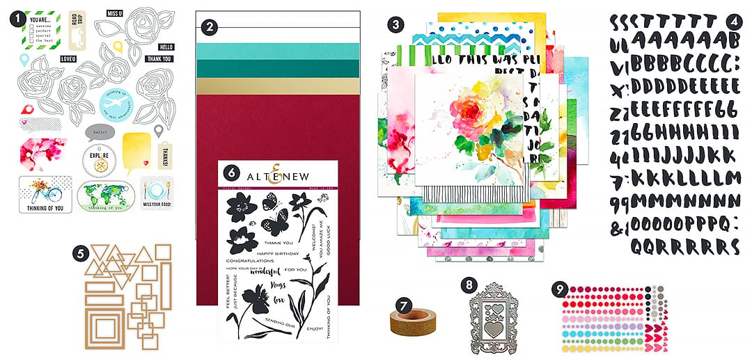Taking a look at the new Altenew card kit. Find out more by clicking on the following link: https://limedoodledesign.com/2017/04/altenew-card-kitlayering-dies-release-blog-hop-giveaway/