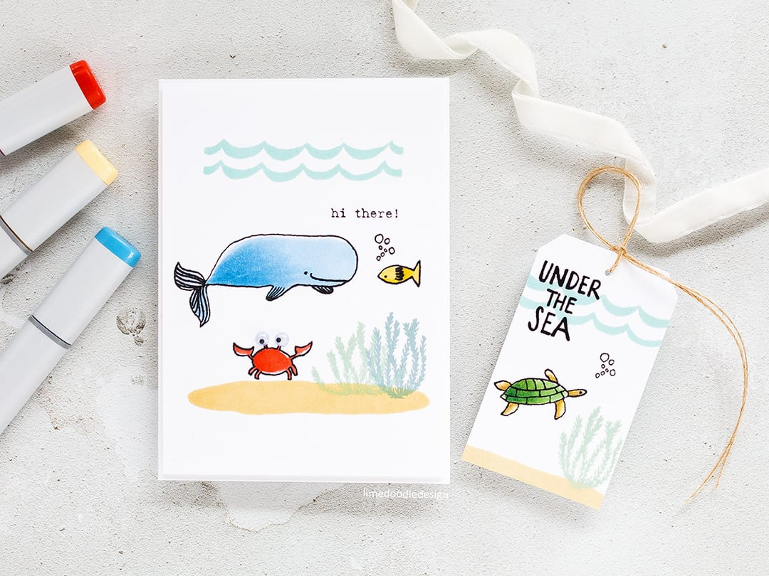 Welcoming a new stamp company, Flora & Fauna and taking a look at two of their cute sets. Find out more by clicking on the following link: https://limedoodledesign.com/2017/04/welcome-flora-fauna-giveaway/