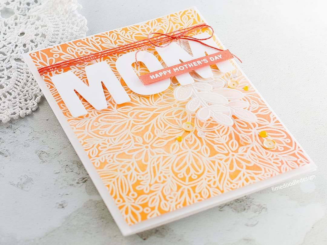 Mother's Day card by Debby Hughes using the new Mothers Fathers Flowers release from Simon Says Stamp. Find out more by clicking on the following link: https://limedoodledesign.com/2017/04/mothers-fathers-flowers-sss-release-hop/