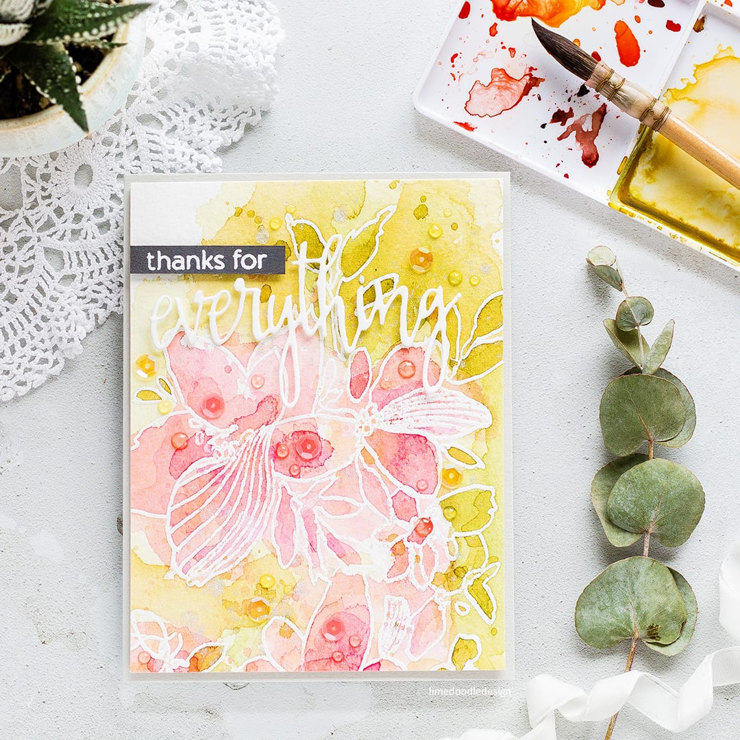 Reviewing the new July 2017 release from Altenew. Handmade watercoloured flower card by Debby Hughes. Find out more: https://limedoodledesign.com/2017/07/altenew-july-2017-release-blog-hop-giveaway/