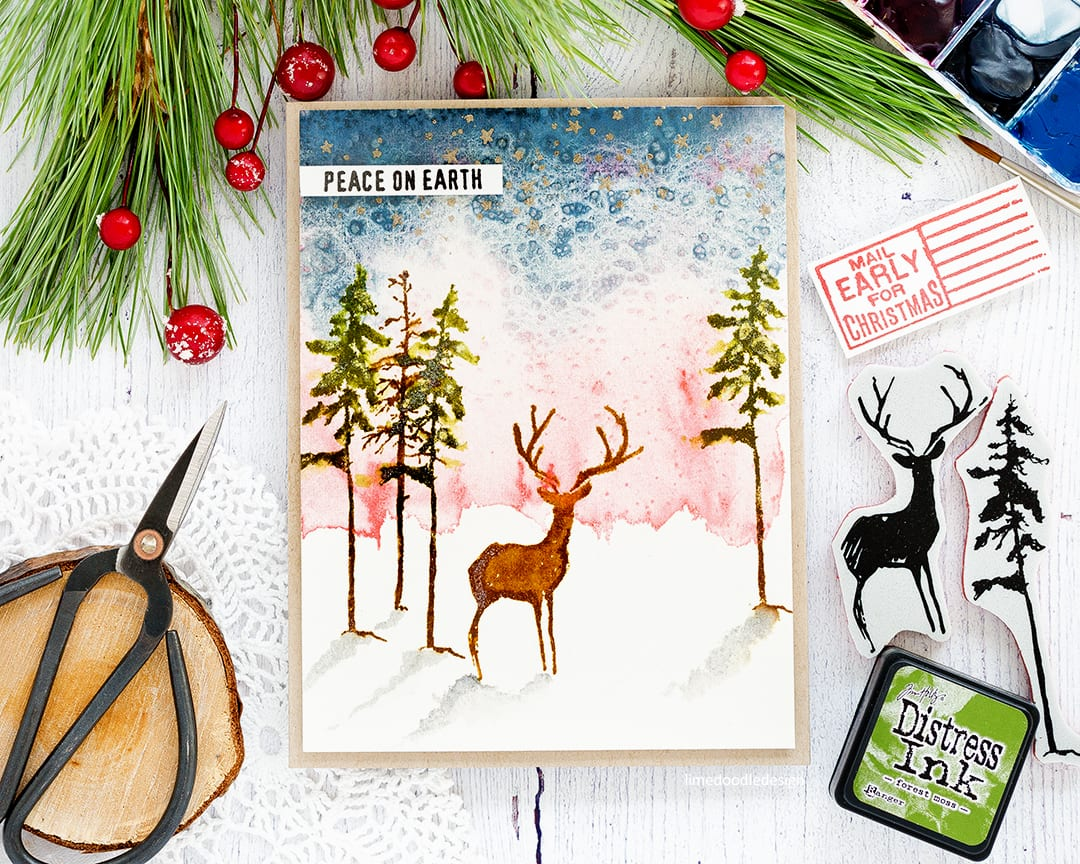 Tim Holtz Stampers Anonymous STAMPtember + Winner