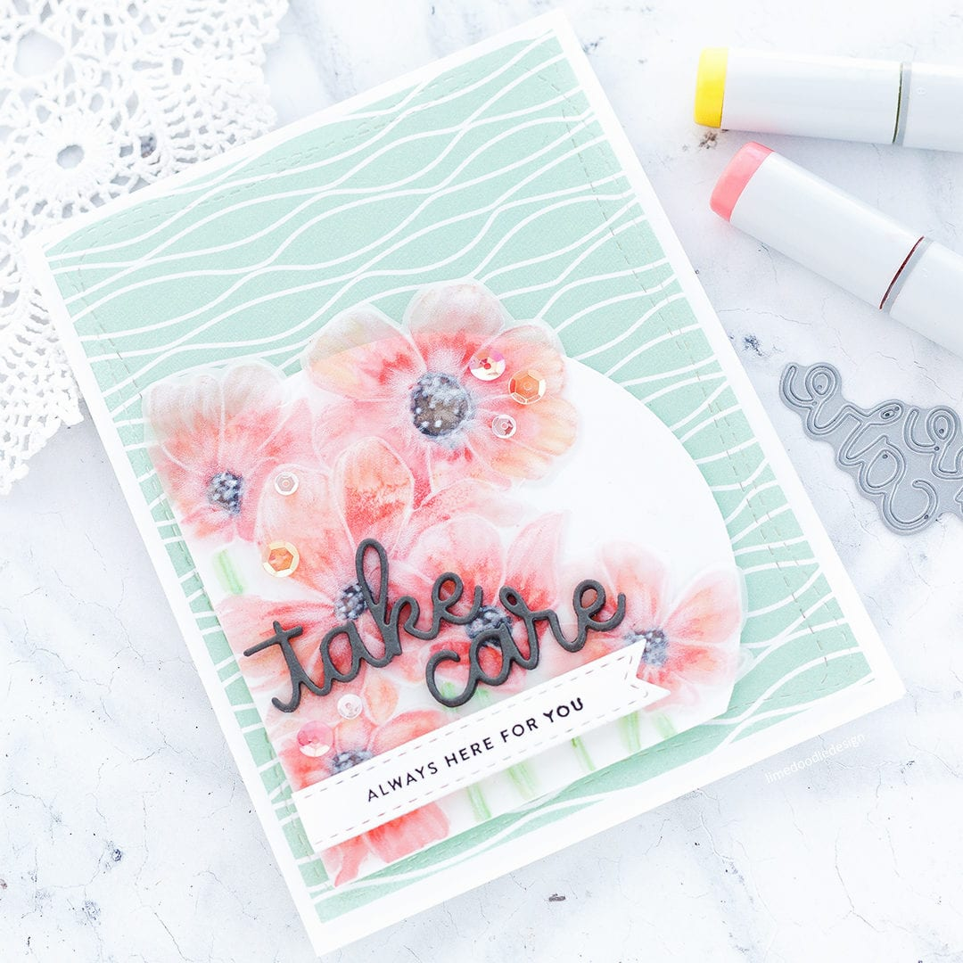 Embossing Vellum + Simon Says Stamp New Release Blog Hop