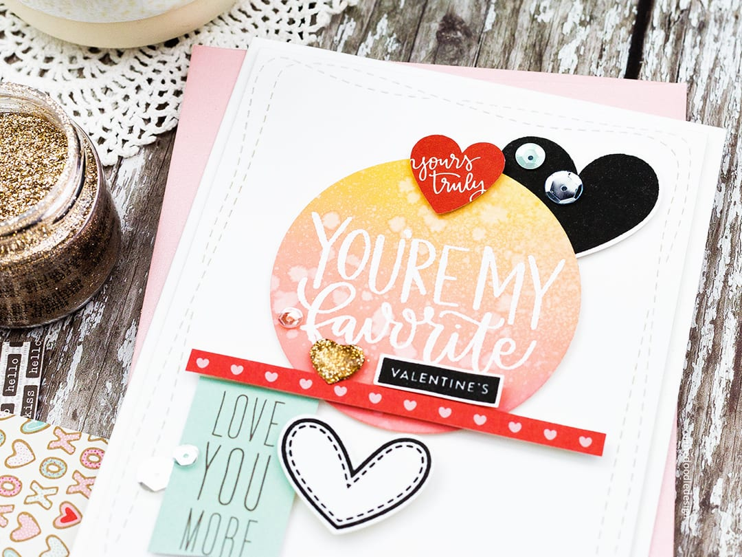 All the hearts for the first card kit of 2018 from Simon Says Stamp. Handmade Valentine's card by Debby Hughes. Find out more: https://limedoodledesign.com/2017/12/all-the-hearts-for-the-simon-says-stamp-january-card-kit/